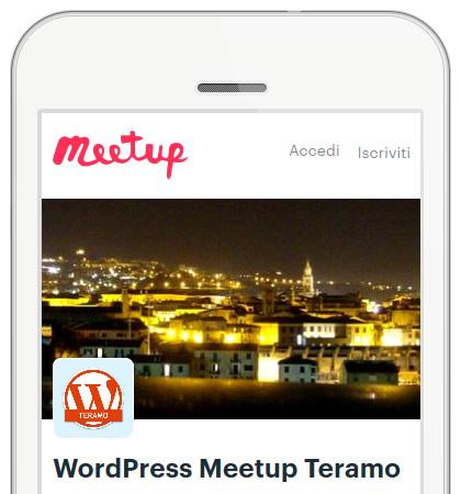 WP Meetup Teramo: unisciti alle riunioni della community smartphone