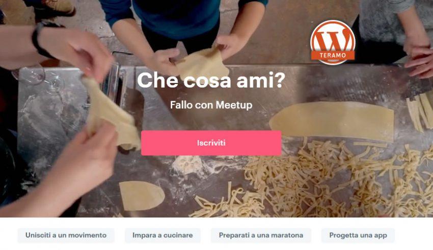 Manuale iscrizione gratuita al WordPress Meetup di Teramo parte 01