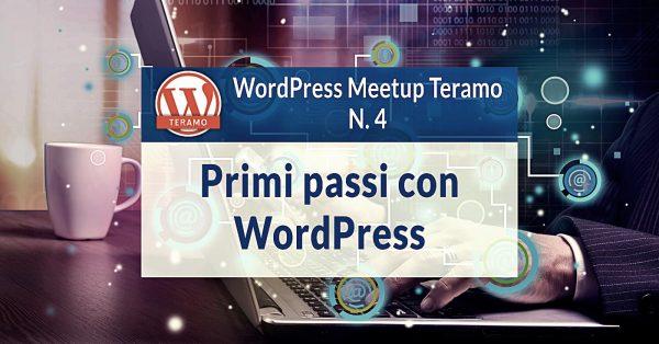 Installare WordPress: dai primi passi a Gutenberg - WordPress Meetup Teramo N. 4
