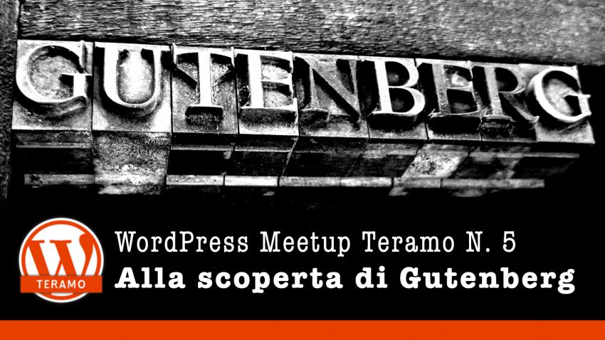 Risorse per il WordPress Meetup Teramo N. 4 - Installare WordPress