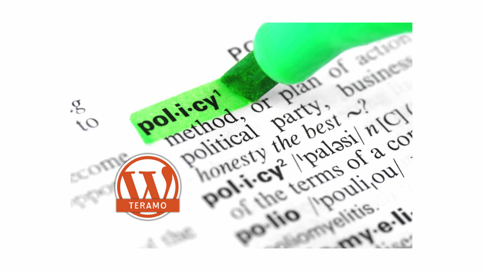 WP Teramo Cookies Policy 01 Header Community WordPress di Teramo e dintorni