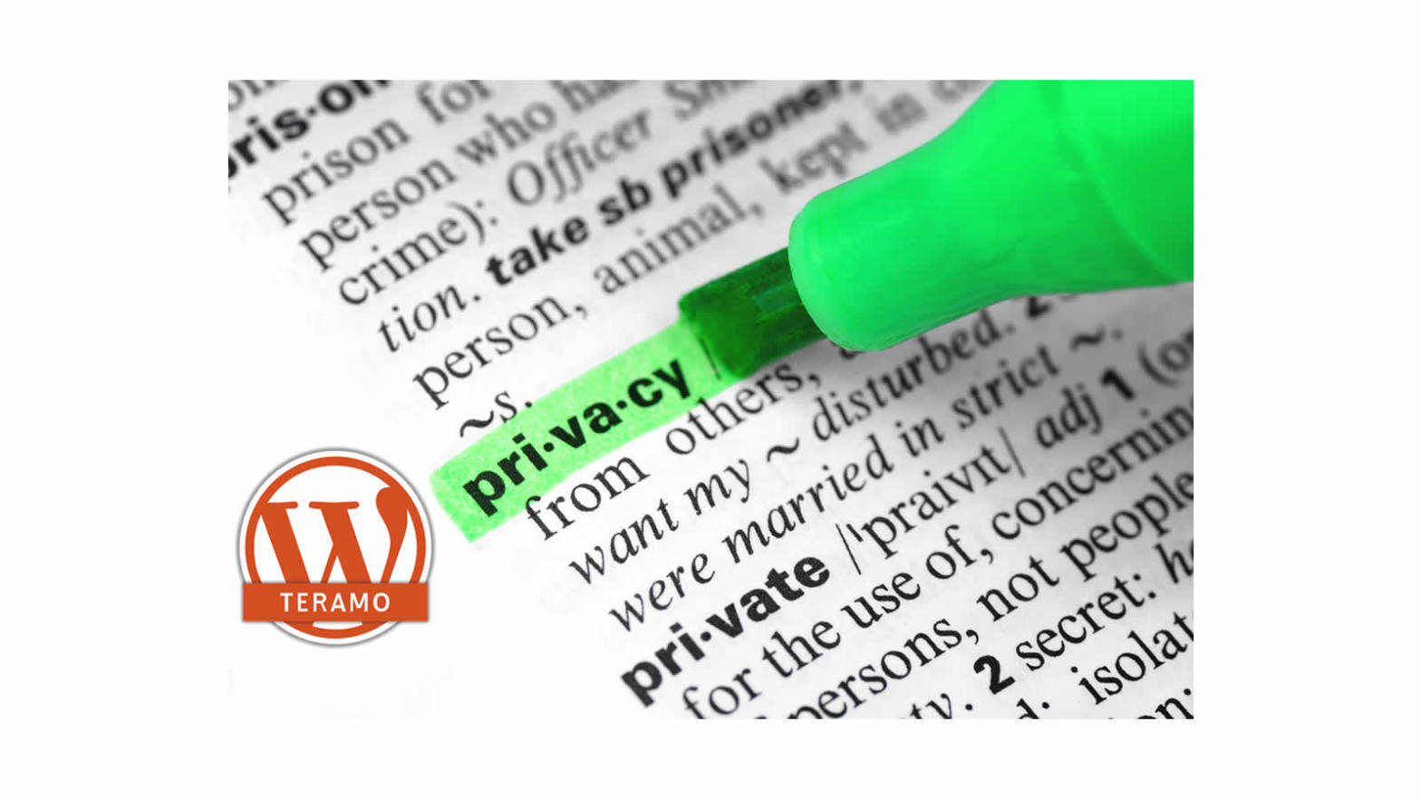 WP Teramo Privacy Policy 01 Header Community WordPress di Teramo e dintorni